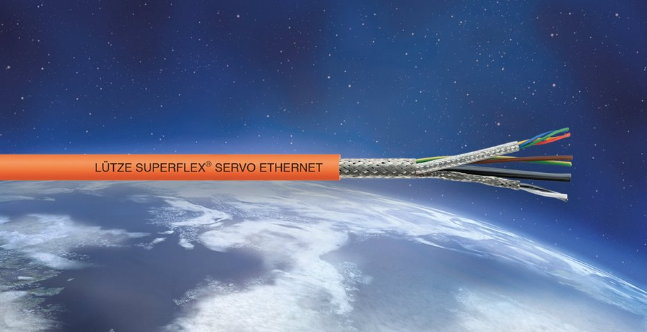 Ethernet hybrid cables for new SIEMENS® and BOSCH REXROTH® servomotor systems - Friedrich Lütze GmbH
