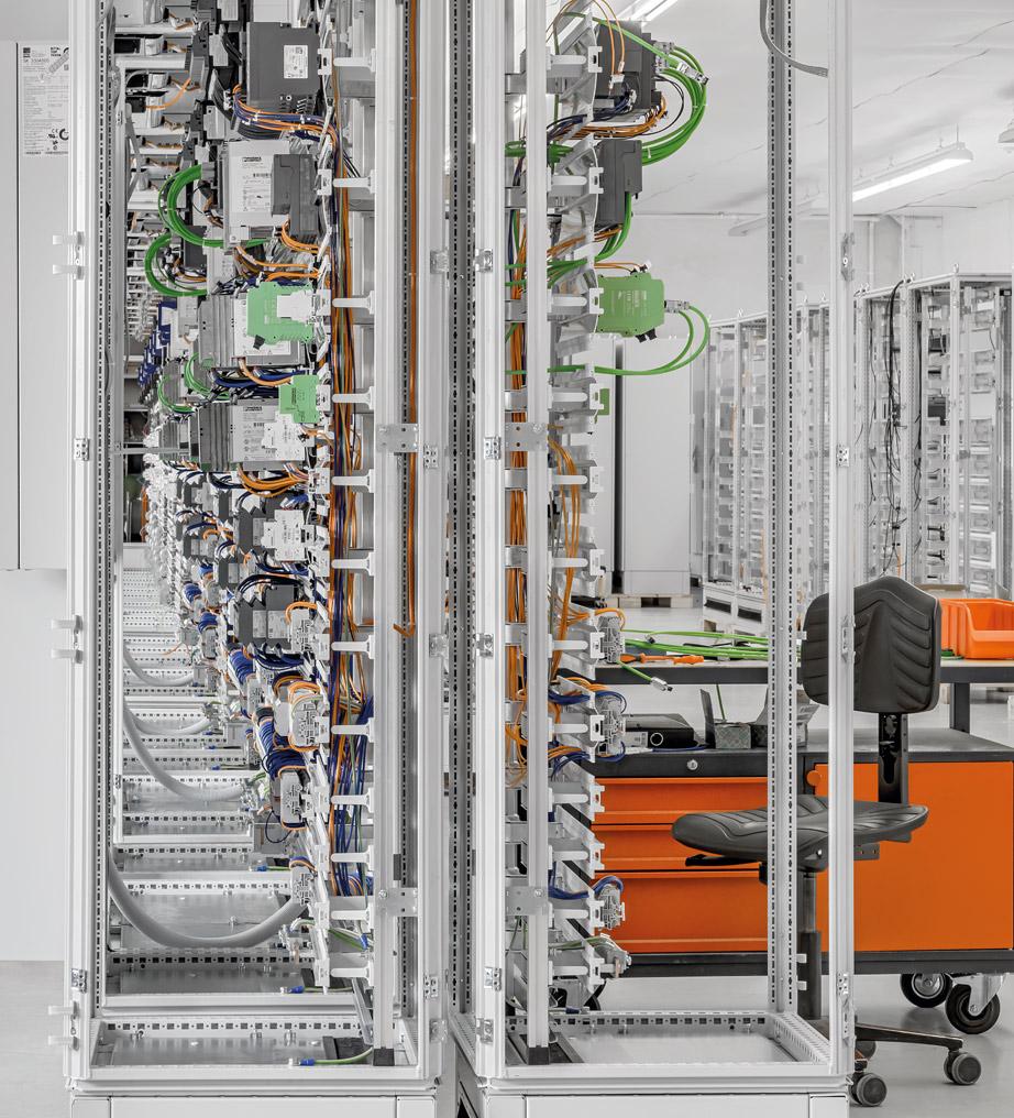 Schaltschrankbau und Verdrahtung - Friedrich Lütze GmbH