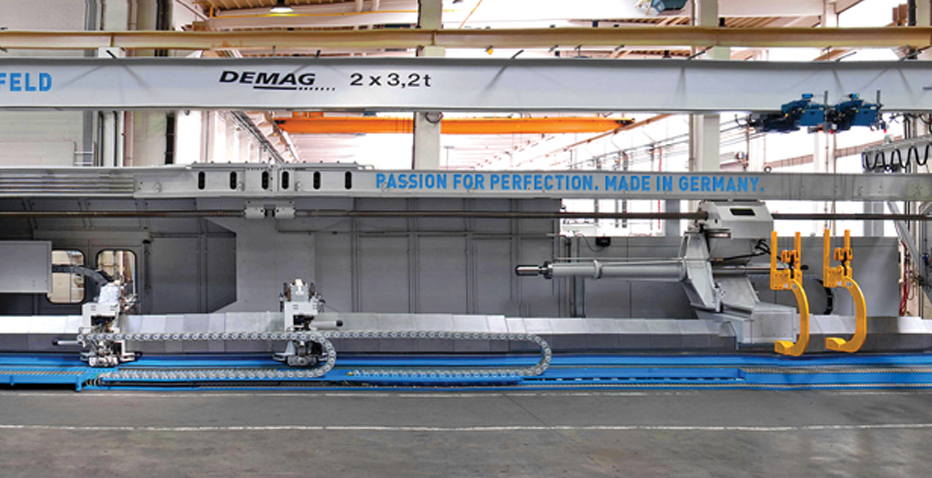 Giant Machine in Record Time - Friedrich Lütze GmbH