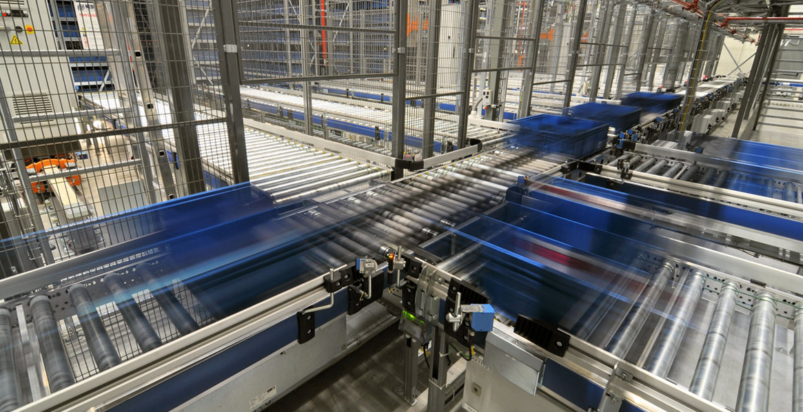 Modern conveyor systems for steadily growing online business! - Friedrich Lütze GmbH