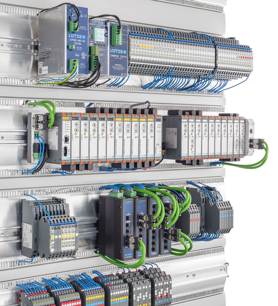 Components And Solutions For Industry 40 Friedrich Ltze Gmbh Kleebtronics Powersupply